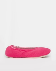Totes Pink Stretch Ballet Slippers