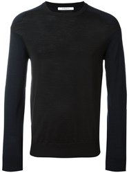 Givenchy Two Tone Jumper Black