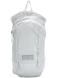 Adidas By Stella Mccartney Perforated Detailing Backpack White