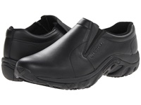 Merrell Jungle Moc Pro Grip Black Men's Slip On Shoes