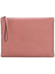 Lanvin 'Nomad' Clutch Pink And Purple