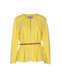 Silvian Heach Suits And Jackets Blazers Women Yellow