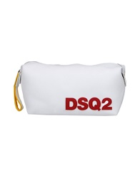 Dsquared2 Beauty Cases White