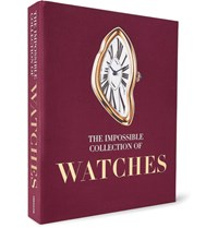 Assouline The Impossible Collection Of Watches Hardcover Book Red
