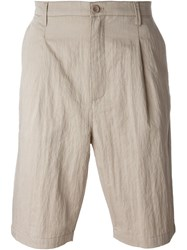 Helmut Lang Bermuda Shorts Nude And Neutrals