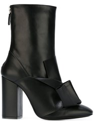 N 21 No21 Knot Detail Boots Black