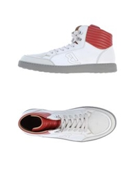 Barracuda High Top Sneakers White