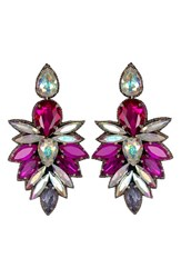 Suzanna Dai Women's 'Cuzco' Drop Earrings Fuchsia