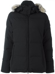 Canada Goose 'Chelsea' Padded Hooded Parka Black