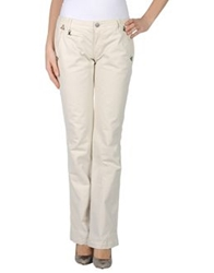 Jaggy Casual Pants Ivory