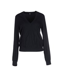 European Culture Topwear Sweatshirts Women Dark Blue