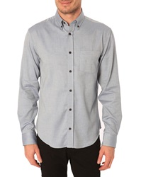 Menlook Label Owen Blue Button Down Collar Shirt