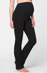 Ingrid And Isabel Maternity Workout Pants Jet Black