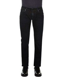 Dolce And Gabbana Five Pocket Washed Denim Jeans Black