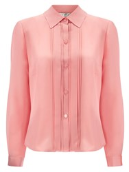 Eastex Box Pleat Blouse Pink