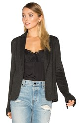 Michael Stars Relaxed Blazer Charcoal