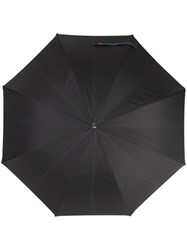 Etro Contrast Trim Umbrella Black