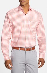 Men's Cutter And Buck 'St. Ives' Classic Fit Long Sleeve Check Sport Shirt