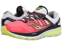 Saucony Triumph Iso 2 Coral Silver Women's Shoes Red