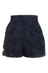 Love Lace Shorts By Navy Blue