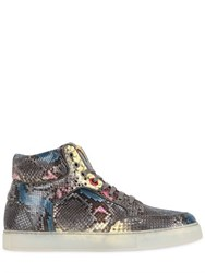 Royaums Limit.Ed Python High Top Sneakers