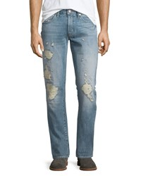 J Brand Tyler Destroyed Slim Fit Denim Jeans Destructed Kragg