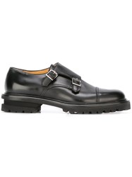Premiata Classic Monk Shoes Black