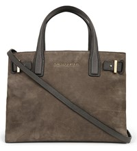 Kurt Geiger London Leather Tote Grey Other