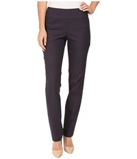 Nic Zoe Wonderstretch Pant Japanese Violet Women's Dress Pants Brown
