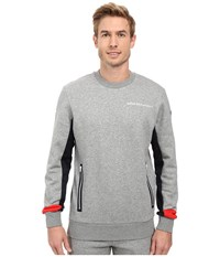 Puma Bmw Msp Crew Neck Sweater Medium Gray Heather Men's Sweater