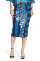 Women's Tracy Reese Stripe Sequin Pencil Skirt
