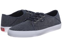 Vans Costa Mesa Sf Chambray Stripes Dress Blues Men's Shoes Gray