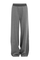 Fenty X Puma By Rihanna Wide Leg Cotton Sweatpants Grey