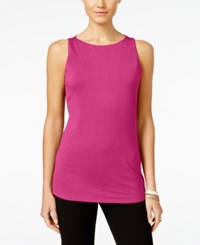 Inc International Concepts Boat Neck Tank Top Only At Macy's Intense Pink