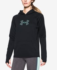 Under Armour Storm Logo Hoodie Black Crystal