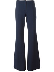 Nina Ricci Flared Trousers Blue