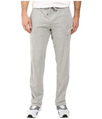 Nike Club Jersey Pant Dark Grey Heather White Men's Casual Pants Gray