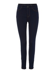 Therapy Sarah Skinny Jean With Zip Detail Indigo