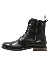 Sneaky Steve Fordham Laceup Boots Black