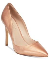 Charles By Charles David Pact Pumps Women's Shoes Light Gold Metallic