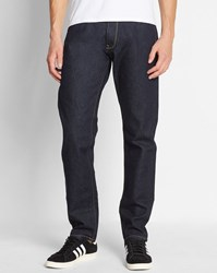 Carhartt Blue Wash Vicious Madera Tapered Fit Jeans