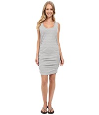 Carve Designs Taylor Dress Anchor Stripe Women's Dress Gray