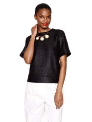Kate Spade Madison Ave. Collection Jordie Top Black