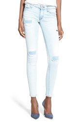 Women's Hudson Jeans 'Krista' Rip And Repair Ankle Super Skinny Jeans Aerial