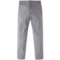 Incotex Flannel Drawcord Trouser Grey