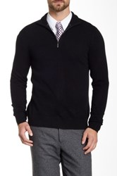 Qi Cashmere Funnel Neck Sweater Black