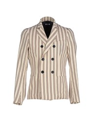 Officina 36 Suits And Jackets Blazers Men Beige
