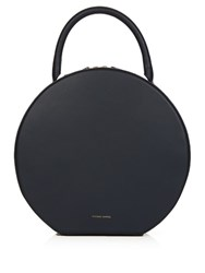 Mansur Gavriel Circle Leather Bag Navy
