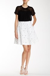 Marc By Marc Jacobs Full Circle Skirt White