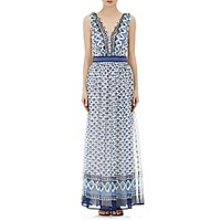 Philosophy Di Alberta Ferretti Women's Chiffon Maxi Dress Size 0 Us No Color